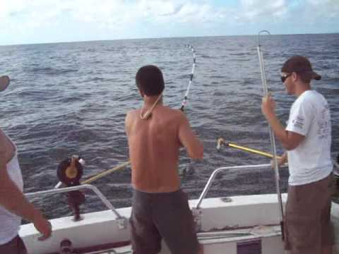 Charter fishing offshore with www.fishmastercharters.com