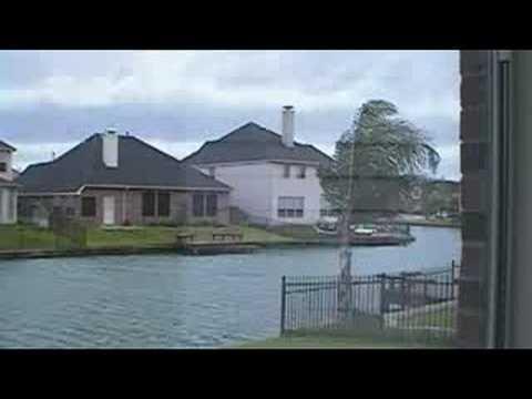 Hurricane Ike 2008 Sugar Land, TX Video