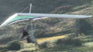 Hang gliding in Algodonales (Spain)