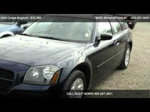 2006 Dodge Magnum SE - for sale in Whitehall, MT 59759