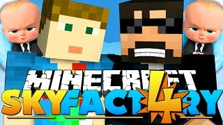 Minecraft: SkyFactory 4 - TAKING DOWN THE HARDEST BOSS!! [23]