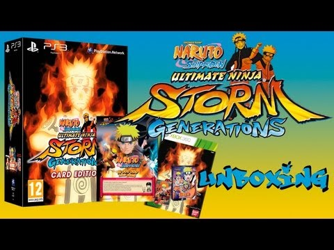 Naruto Ultimate Ninja Storm Generation Card Edition - Unboxing Animado