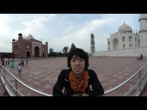 VR世界一周旅行 インド#8 【タージマハル Taj Mahal】 VR Feel Travel