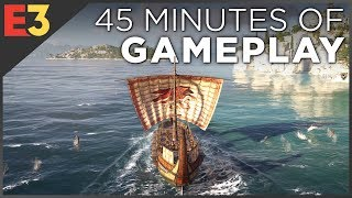 Assassin's Creed Odyssey 4K GAMEPLAY! Naval Combat, Dialogue Choices & Multiple Characters!