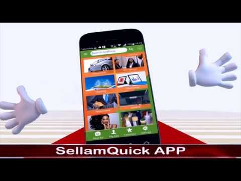 Sellam Quick App - Application SellamQuick.com - Buy & Sell in Cameroon & Nigeria Free.