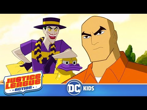 Justice League Action | Joker's Big Day Out | DC Kids