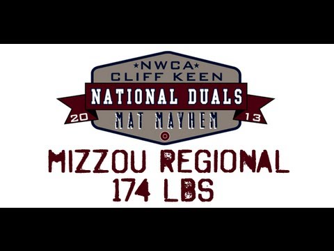 174 lbs.- 2013 NWCA Cliff Keen National Duals Regional SemiFinal - Missouri vs Maryland