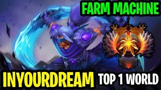 Top 1 World Farming Is Sick! - Inyourdream Anti-Mage-  Dota 2