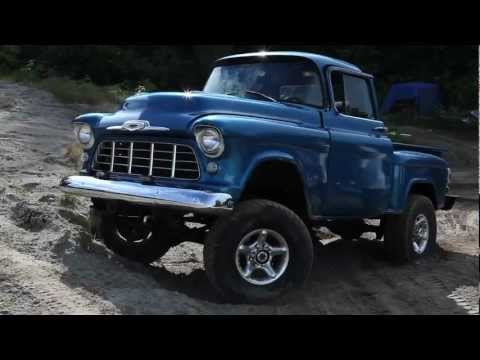 57 chevy Step side 4x4 Music Videos
