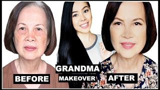My 75 Year Old Grandma Makeover- Beautyklove