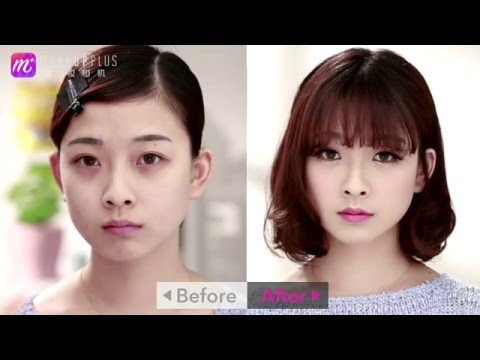 How To: Japanese Cute Makeup Demo - Make up Tutorial | 美图化妆教程系列 - 日系萌妆