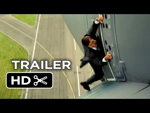 Mission: Impossible Rogue Nation Official Trailer #1 (2015) - Tom Cruise, Simon Pegg Spy Movie HD