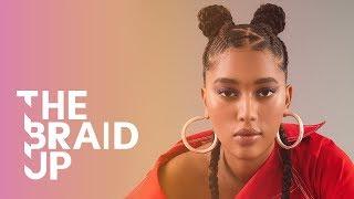 Double Braided Bun | The Braid Up | Cosmopolitan