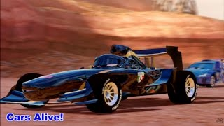 Cars 2: The video Game - Midnight Francesco - Canyon Run