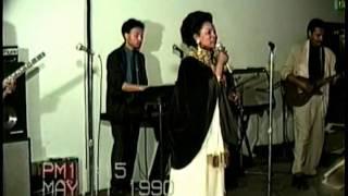 Bezunesh Bekele in LA Final Concert May 11, 1990 6 weeks before she died