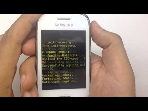 Samsung GT-S5310 ( Galaxy Pocket Neo ) Hard Reset