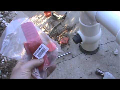 PVC Ball Valve Broken Handle Repair