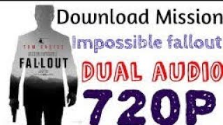 2018 download Mission impossible Fallout movie in hindi 1080p full hd | technical aryan