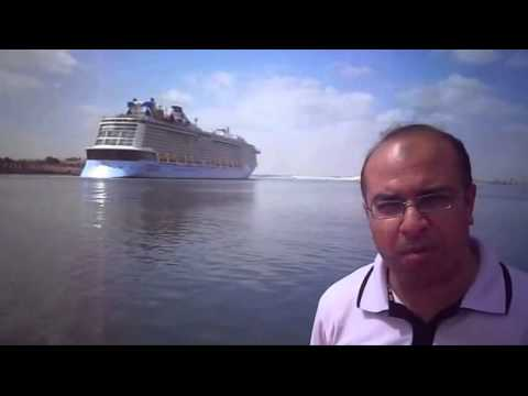 Osama elmalah News Agency Middle East and largest passenger ship in the world in May 2015