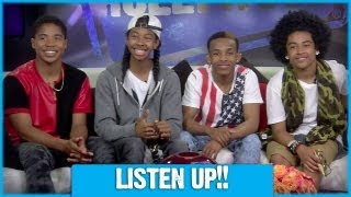 MINDLESS BEHAVIOR Has A Message For You!