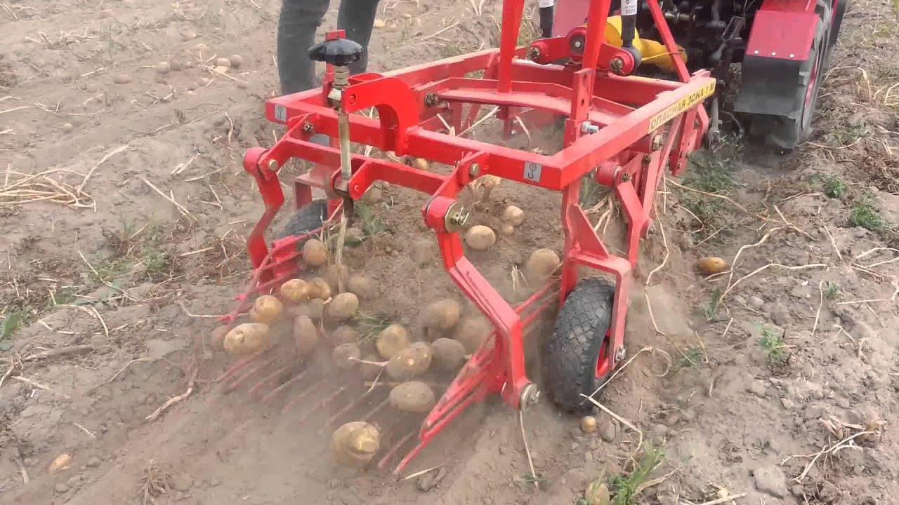 Как правильно изготовить самодельную картофелекопалку Все о 16