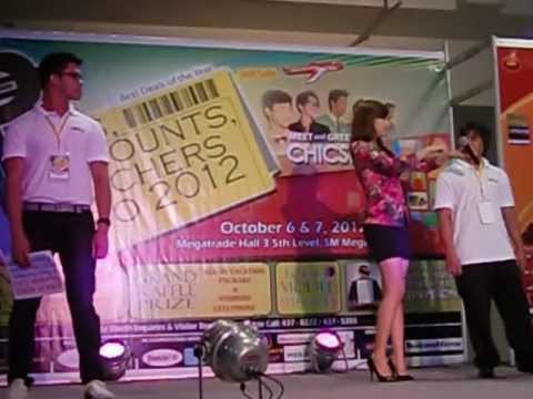 Perks,discounts, Vouchers Expo 2012 - Viva Hot Babes Jennifer Lee With Travelonline Employees :) video
