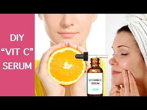 DIY VITAMIN C SERUM    100% EFFECTIVE