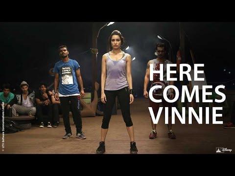 Here comes Vinnie | Disney's ABCD 2 | Shraddha Kapoor