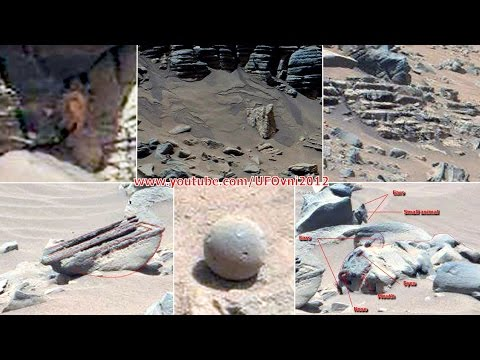 Ancient Aliens On Mars: Anomaly, Statue, Tiles, Water, Flower, Stairs, Sept 2014