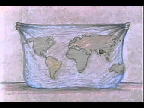 Sesame Street animation- Gloria Globe sings about being the world