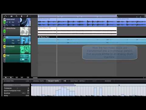 Sequel 3 - Creative working with audio loops video tutorial