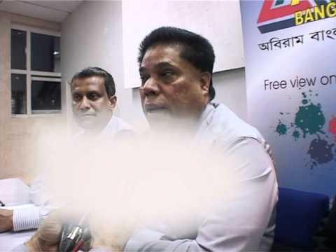 Atn Chairman Mahfuzur Rahman Speech About Sagor Runi Murder.mpg video