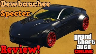 GTA online guides - Dewbauchee Specter review