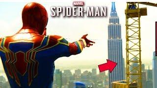 A QUEDA do GUINDASTE GIGANTE!!! - (SPIDER-MAN PS4)