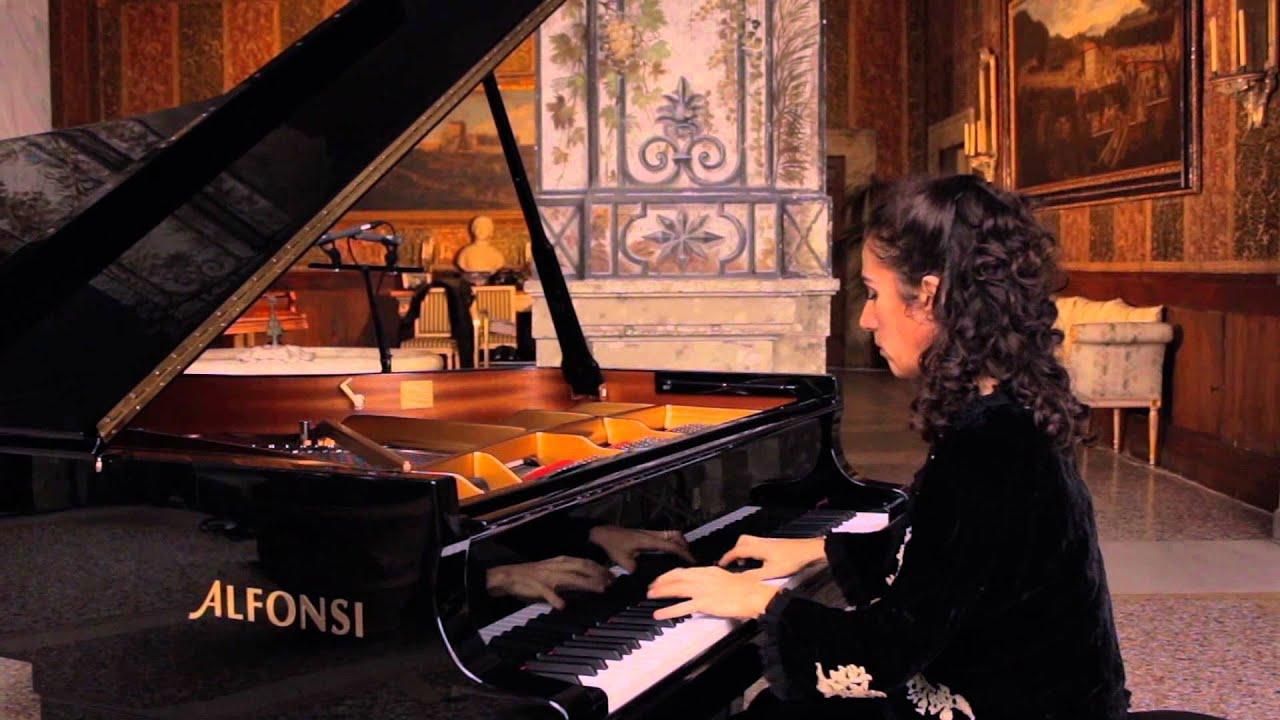 Chopin: Prélude Op. 28 N. 8 Alessandra Ammara Piano   #BF220C 1920 1080 Sala Da Pranzo Country
