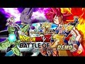 Dragon Ball Z: Battle of Z - PS3 Complete Demo Gameplay HD [Japanese]