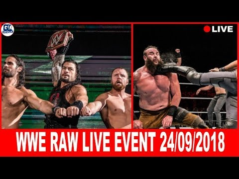WWE Raw Live- September 22, 2018 Highlights | Roman vs Braun Live 22/09/2018 thumbnail