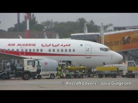Air Algérie Boeing 737-6D6 [7T-VJS] Takeoff @ Berlin-Schönefeld 02.09.2013 (HD)