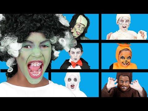 Spooky Finger Family   Halloween Videos   Spooky Songs for Kids