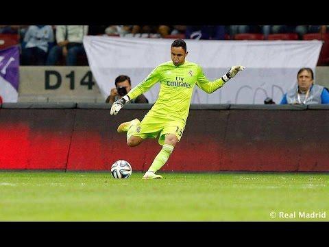 Keylor Navas Debuta en el Real Madrid vs Fiorentina 1 2