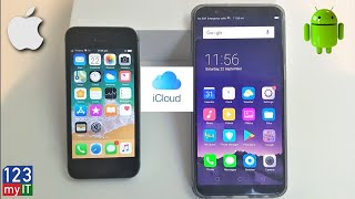 Transfer data from iPhone to Oppo with iCloud