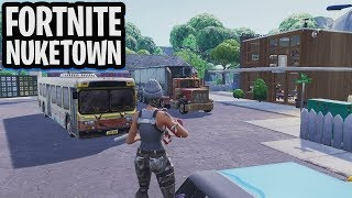1v1v1v1 MATCH op NUKETOWN REMAKE! - Fortnite: Battle Royale Creative (Nederlands)
