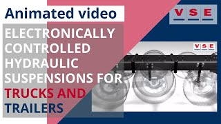 Electronically controlled hydraulic suspensions for trucks and trailers DTS VSE NEW!