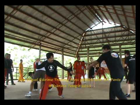 San Miguel Eskrima Training with GM Panto Image 1