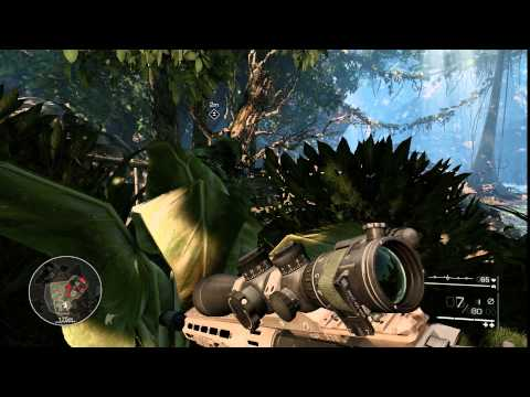Sniper Ghost Warrior 2- Maximo com HD 6870