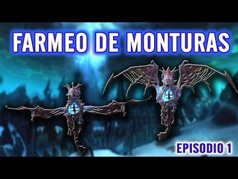 World of Warcraft | Farmeando monturas  - Vencedor Razaescarcha | ICC #1