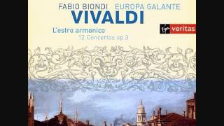 Vivaldi Concerto No. 11 in D minor RV 565 (Europa Galante)