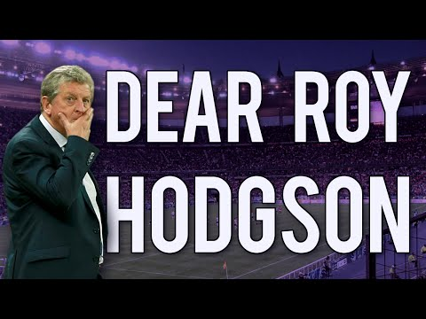 Dear Roy Hodgson (please send me to EURO 2016)