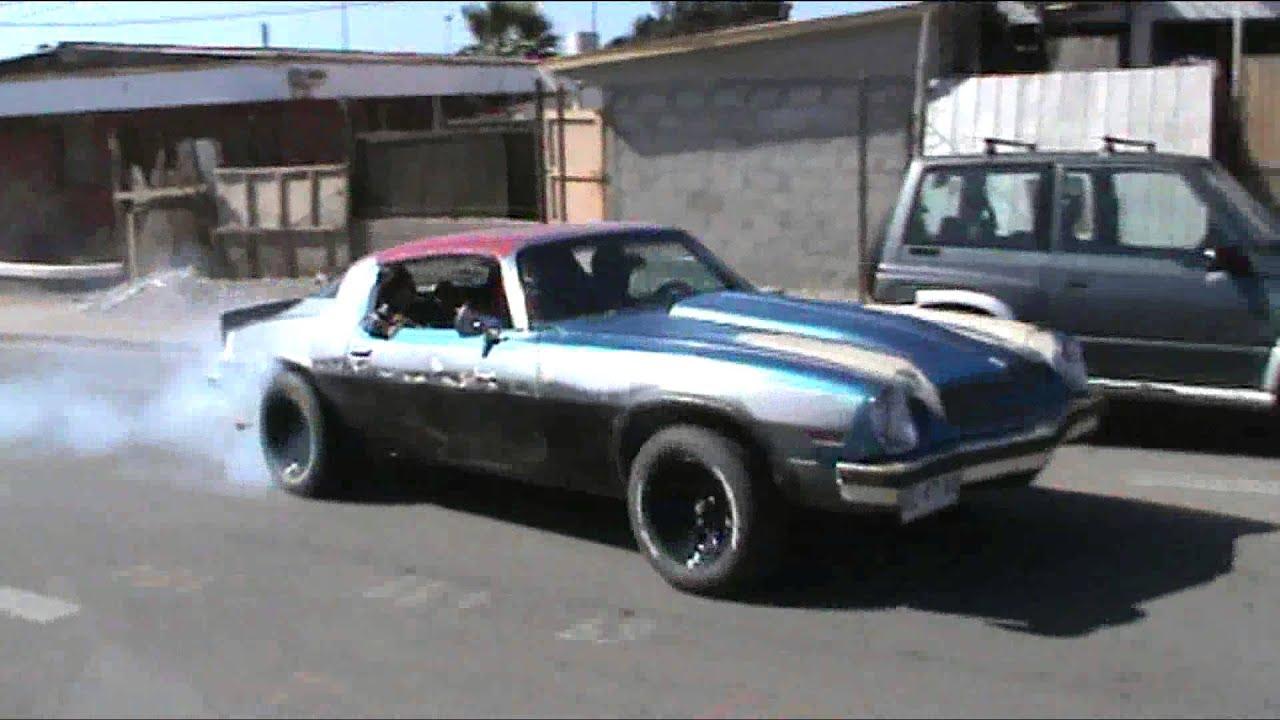 Camaro 1975 V8 350 - YouTube