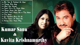 Best Of Kumar Sanu & Kavita Krishnamurthy - Hits 90s Bollywood Romantic Songs - HD AUDIO JUIKEBOX